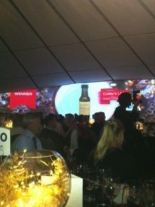 Nominated for newcomer of the year - must buy a bottle!