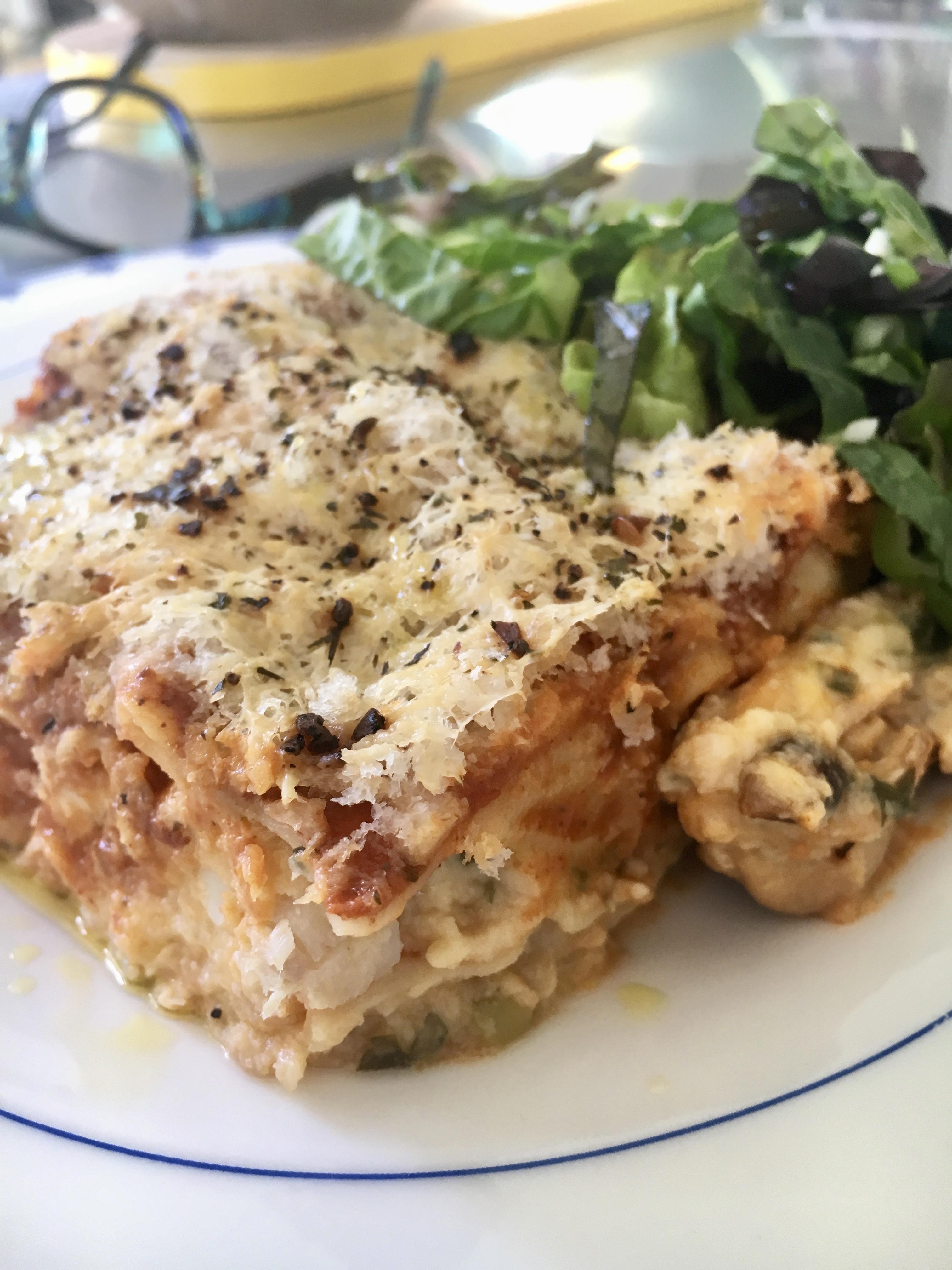 Seafood Lasagne - Jax Hamilton