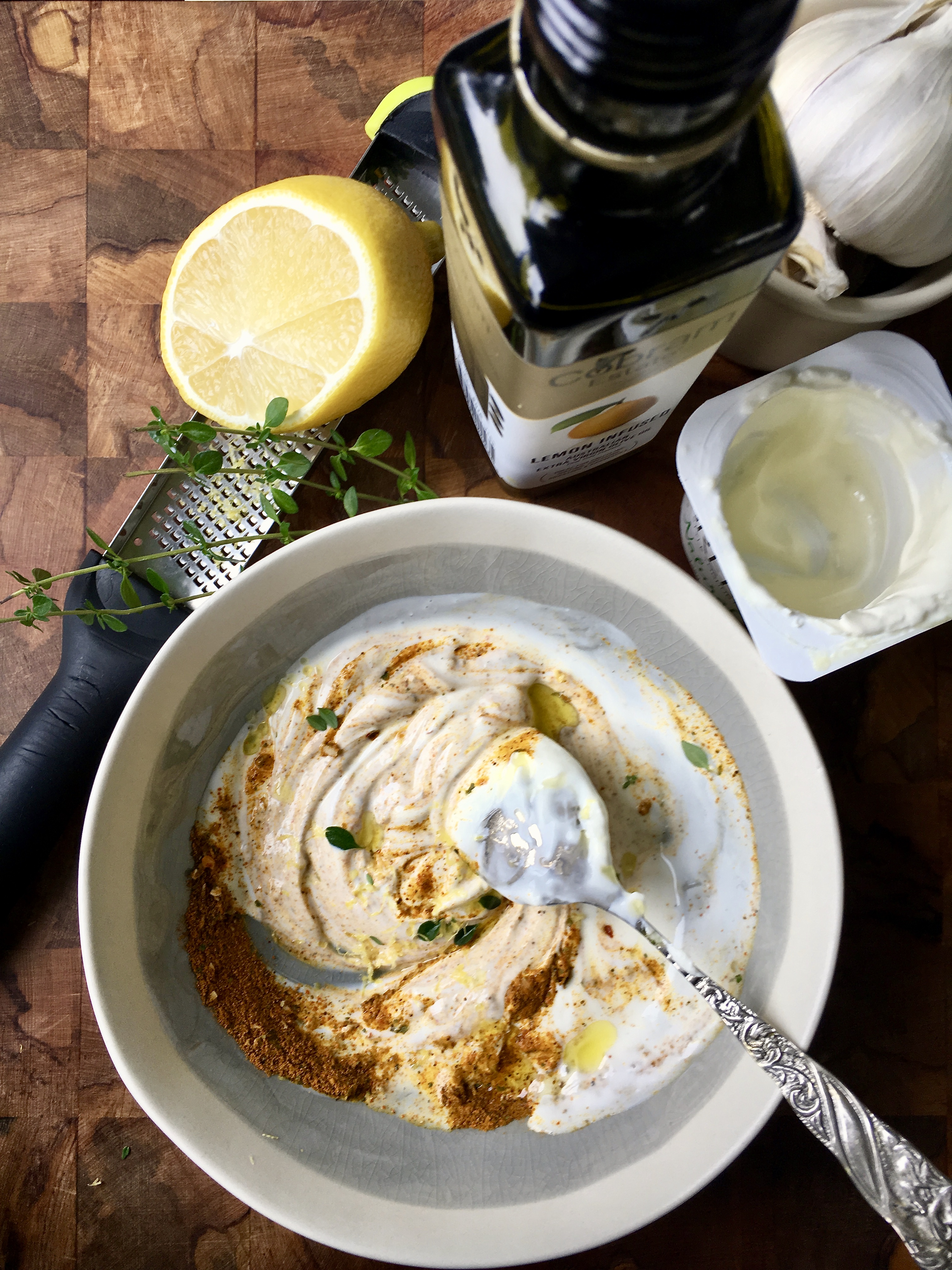 Turmeric, Lemon & Yoghurt Marinade - Jax Hamilton