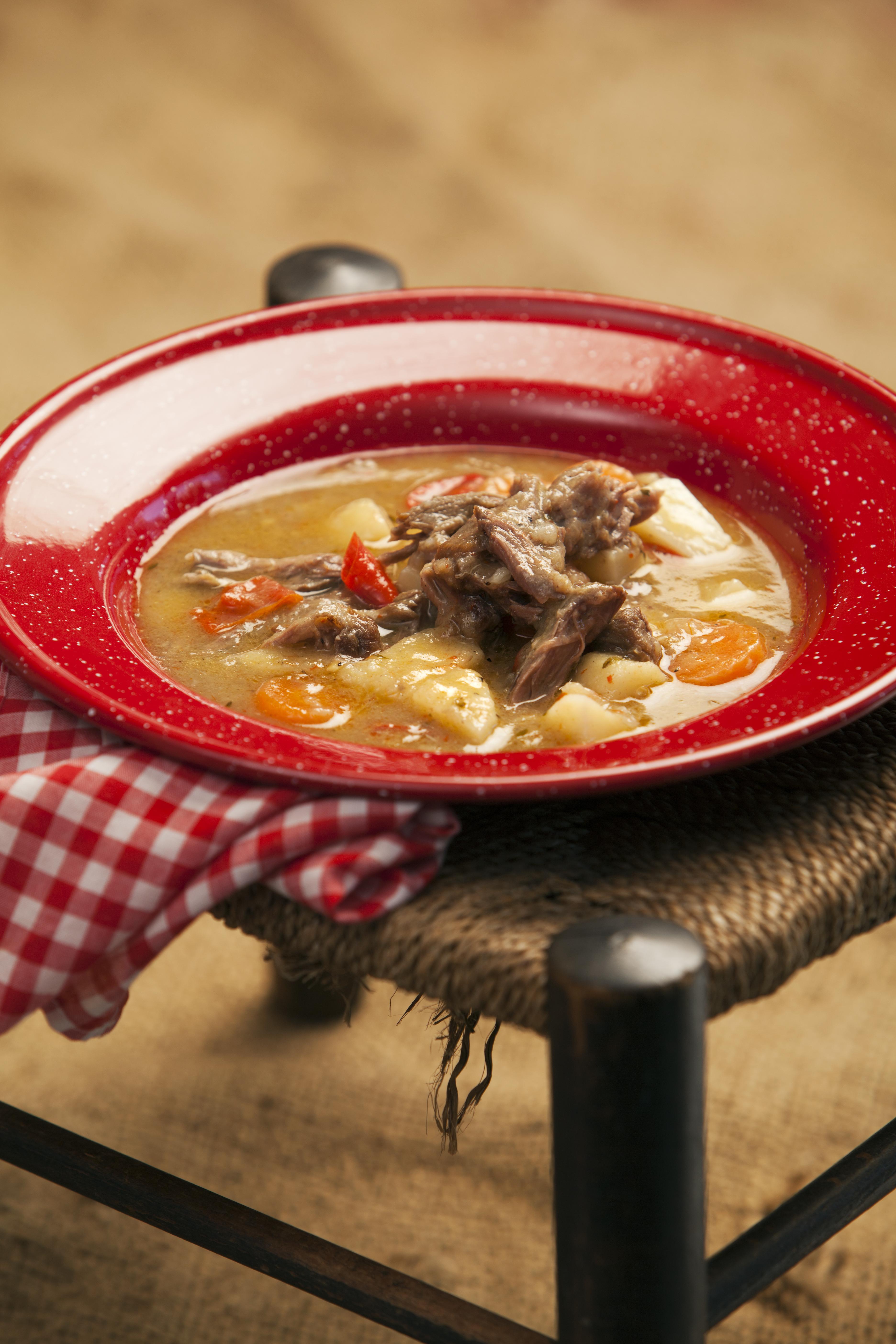 Hearty Lamb and Veggie Soup - Jax Hamilton